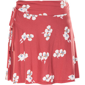 Patagonia Lithia Skirt Women Mariposa Lily: Static Red